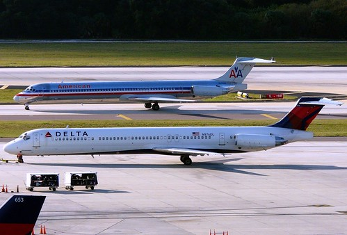 Tampa MD-80's