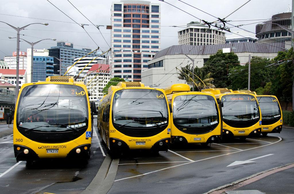 Bubble buses