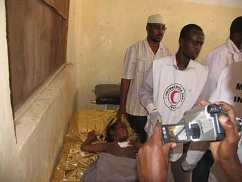 Healthcare workers in Somaliland treat victims of recent military clashes. The Horn of Africa is a focal point of imperialist intervention. by Pan-African News Wire File Photos