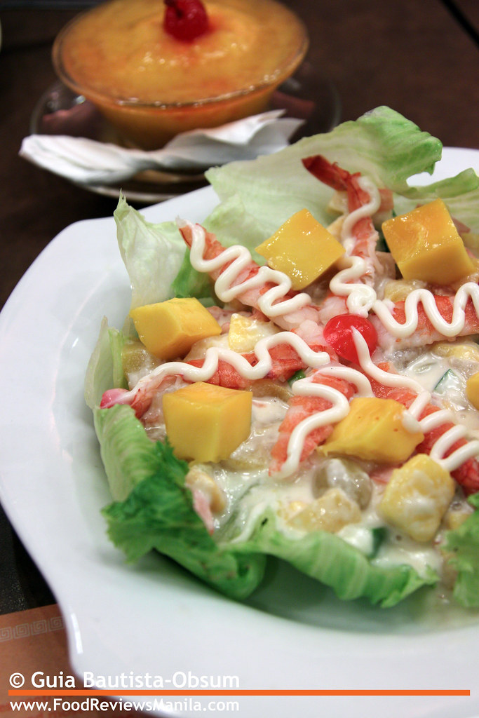 Flavors of China Prawn and Mango Cold Salad