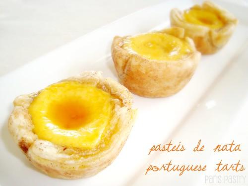 Pastel de Nata (Portuguese tarts)