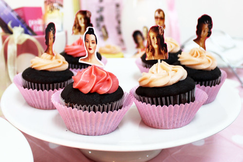 BeneFit Cupcakes - BeneFit Philippines Soft Launch
