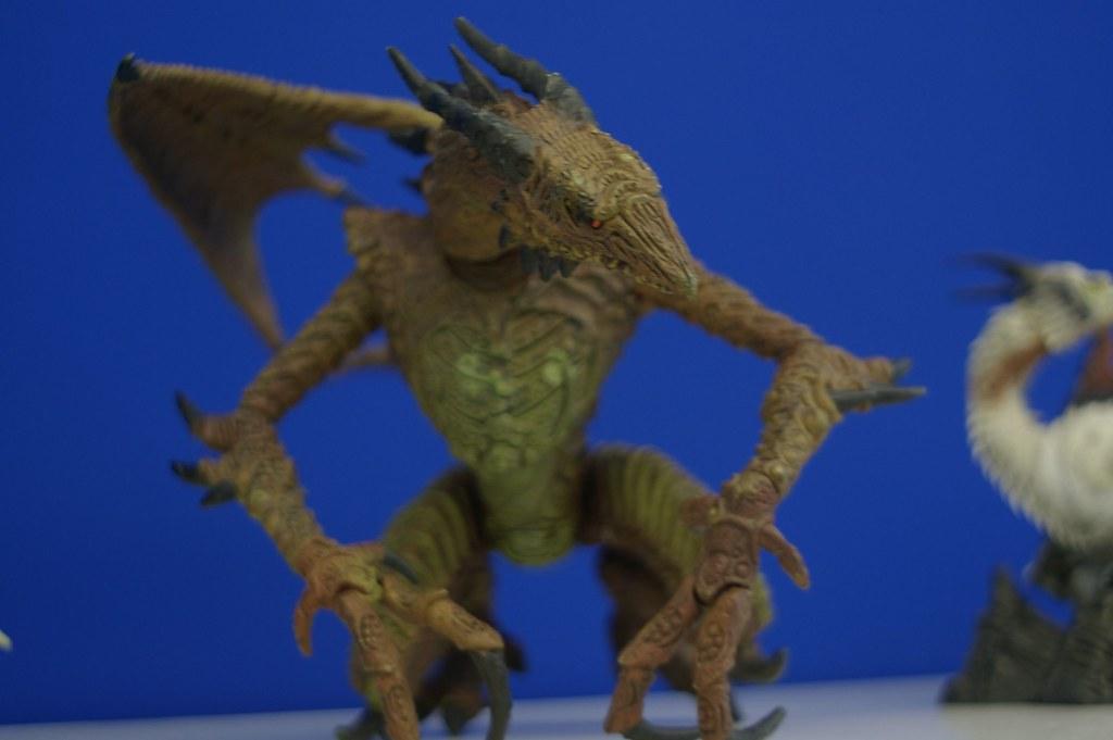 龍、人 模型