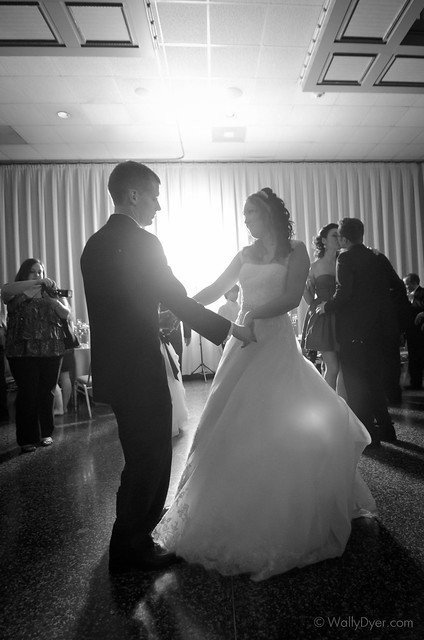 Mr and Mrs Thiess dancing it up :)