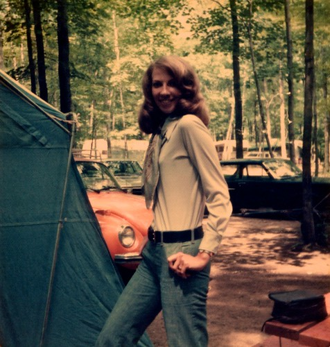 Mom Camping