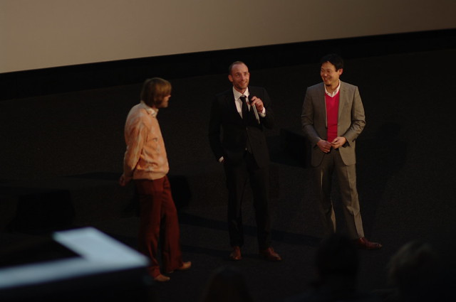 "#IFFR 2012: actor Merijn de Jong and director Fow Pyng Hu of ""Nick"""