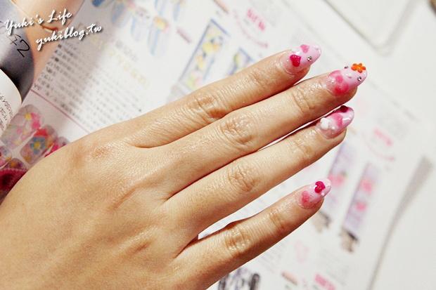 [美甲分享]*友情推薦~❤樹林‧甲鬼甲怪美甲藝術~❤ 我又有可愛的光療甲囉!   Yukis Life by yukiblog.tw