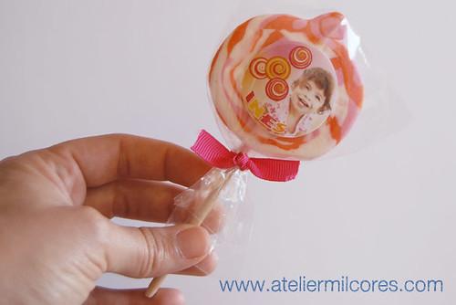 Chupa Chupa Tema lollipop