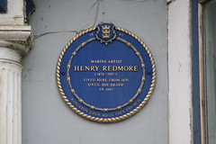 Photo of Henry Redmore blue plaque