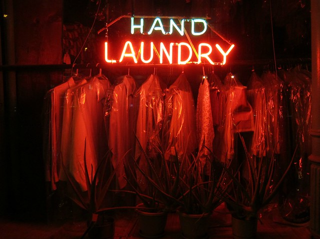 Hell is other people's laundry