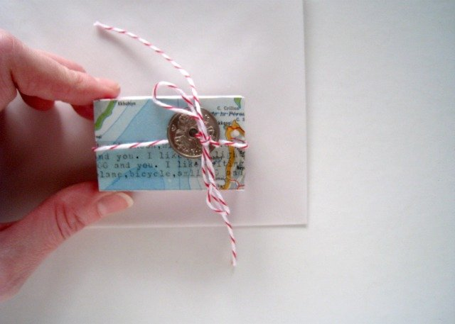 I´m quick get away to the February Matchbox A Day Challenge by Lobster&Swan