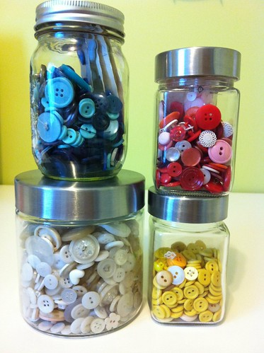 Buttons sorted by colour