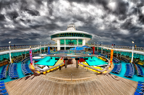 On Deck - Mariner of the Seas