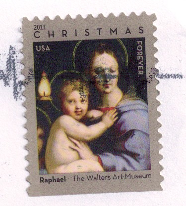 USA Stamp-Christmas