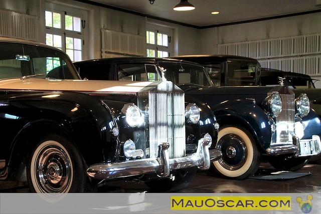 Carros Antigos (Rolls Royce) da fami¦ülia Du Pont em Delaware
