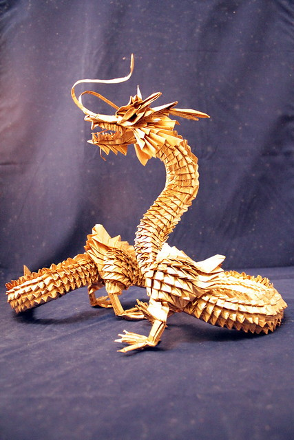 Master The Origami Dragon In A Few Simple Steps! | 640x427