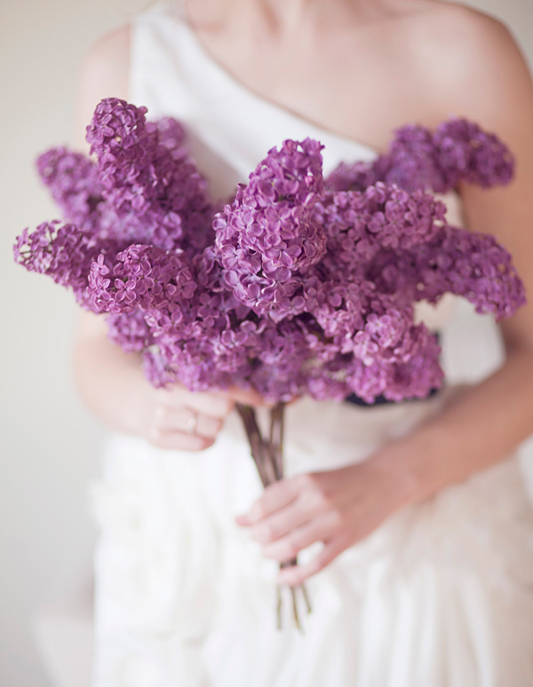 Lilacs and Peonies