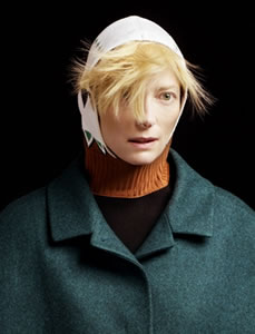 Tilda Swinton, actriz (Peter Hapak de TIME)