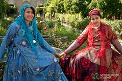 Iranian Sisters in Traditional Dress -Shiraz, Iran