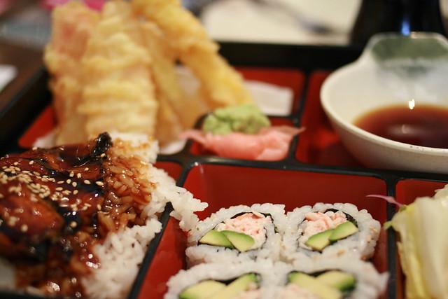 tempura, unagi
