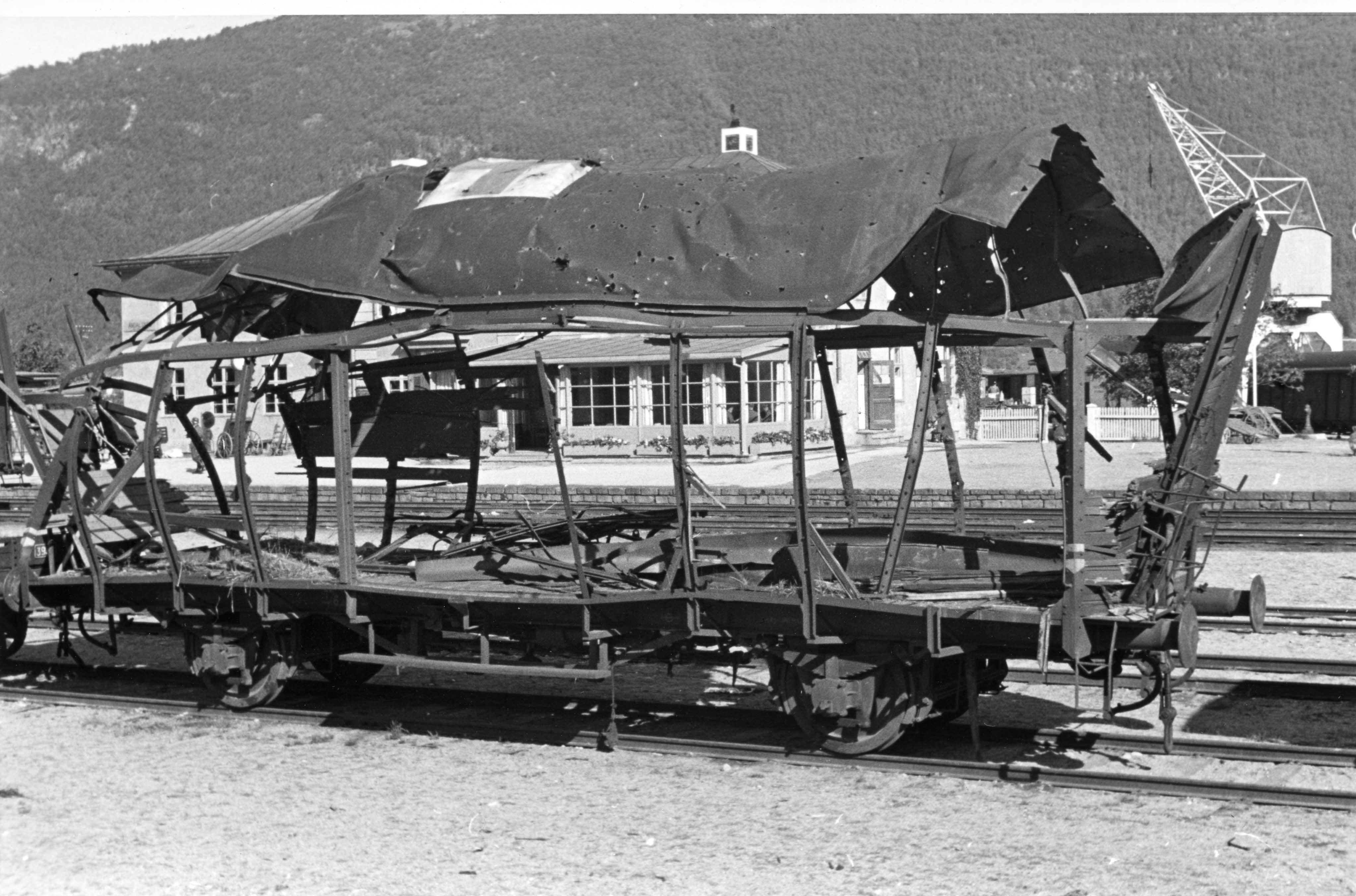 Bombing av jernbanestasjon