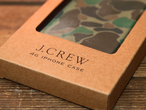 J.Crew / Rubber iPhone Case - Cloud Camo