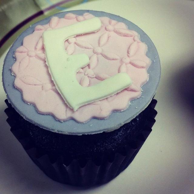 Mini-Mini Creation to match Erin's birthday cake