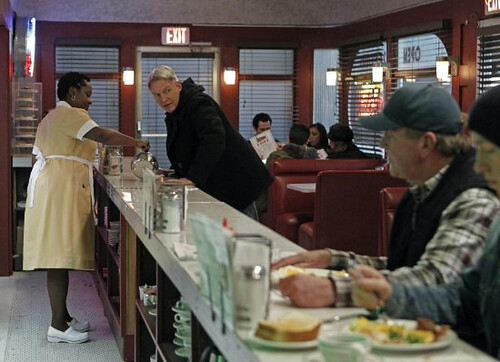 Gibbs in his diner