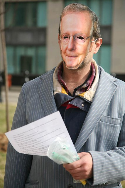 Occupy Mitch McConnell Pic 2 by Eddie D from Patty M