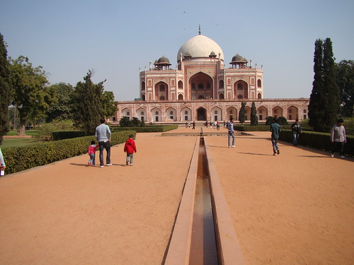 Delhi India ~ Hunyuman's Tomb by Vasenka