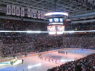 """""""O Canada"""" Montreal at Toronto 3/22/14"""