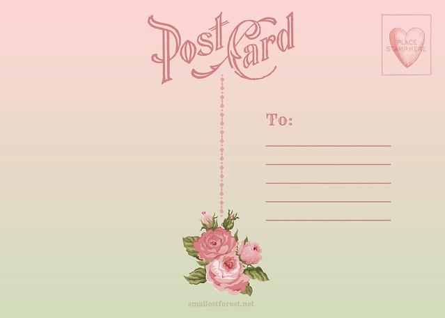 more about DIY Postcards : : customising the address side
