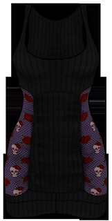 [NEW ON SALE!] *P* Nya MESH Dress ~Rockabilly~ Purple FRONT