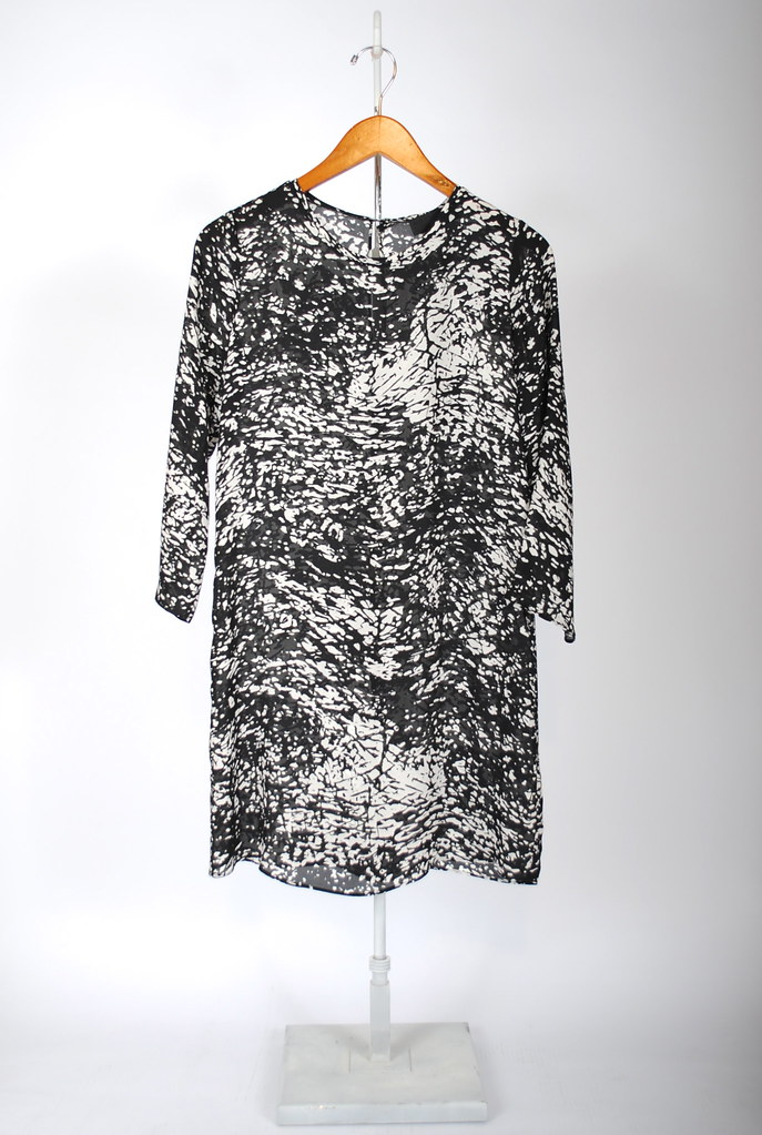 3/4 Sleeve Tee Dress