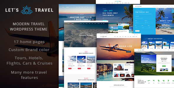 Let's Travel v1.2.1 - Complete Travel Booking Theme