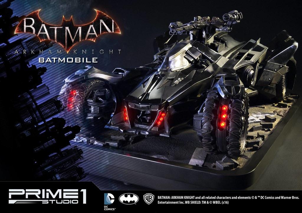 Prime 1 Studio 阿卡漢騎士【蝙蝠車】Batmobile 1/10 比例超巨大全車雕像 MMDC-03