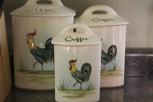 Kitchen Canisters Set Metal