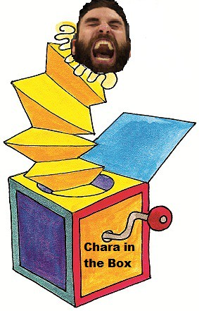Chara In The Box by kel h