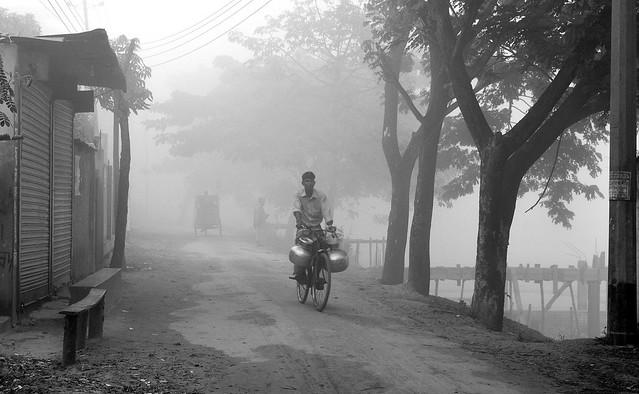 Stranger in the village