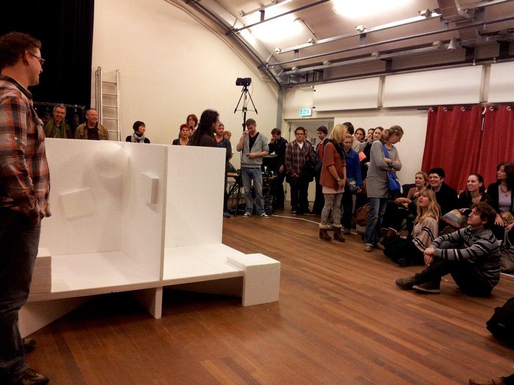 High Tech Theatre in de Verkadefabriek