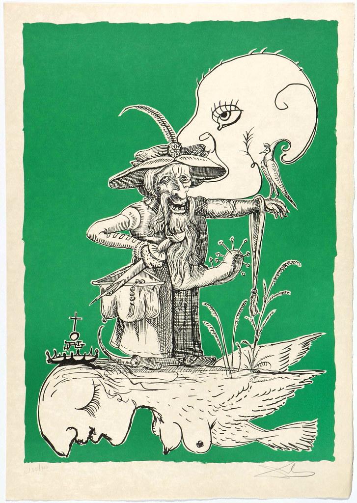 Salvador Dali - Pantagruel 3 (1974)