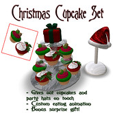 ~ Eat Me ~ Christmas Cupcake set, 280 lindens by Cherokeeh Asteria
