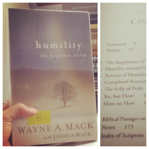 Humility: The Forgotten Virtue by Wayne Mack