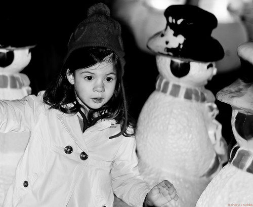 at play amongst the snowmen... by credd