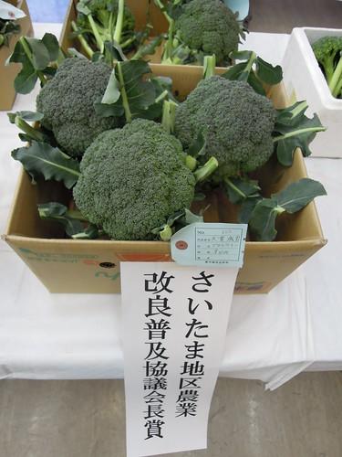 蕨市園芸品評会 さいたま地区農業改良普及協議会長賞