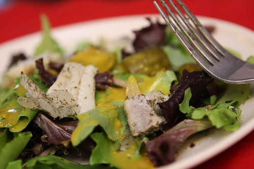 Pickled Herring and Mustard Pickle Salad