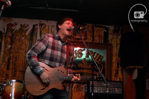 Mike Bochoff @ Gus' Pub Nov. 13th 2011 - 02
