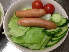 朝食サラダ(2011/11/29)