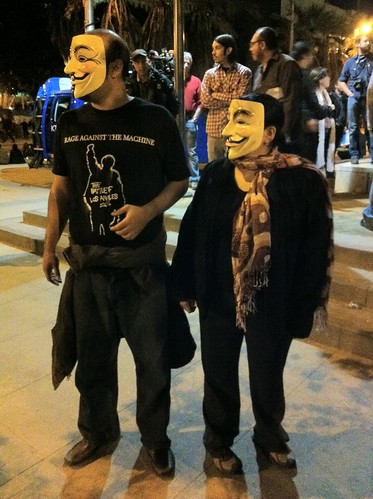 Guy Fawkes couple
