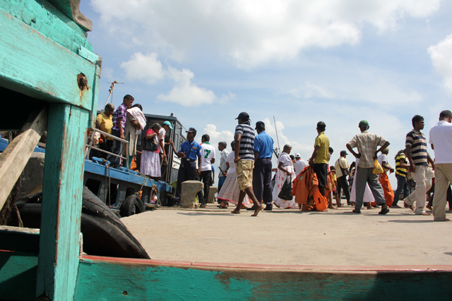 Ferry to Nainativu Island